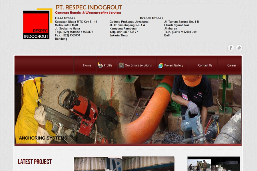 PT. Respec Indogrout
